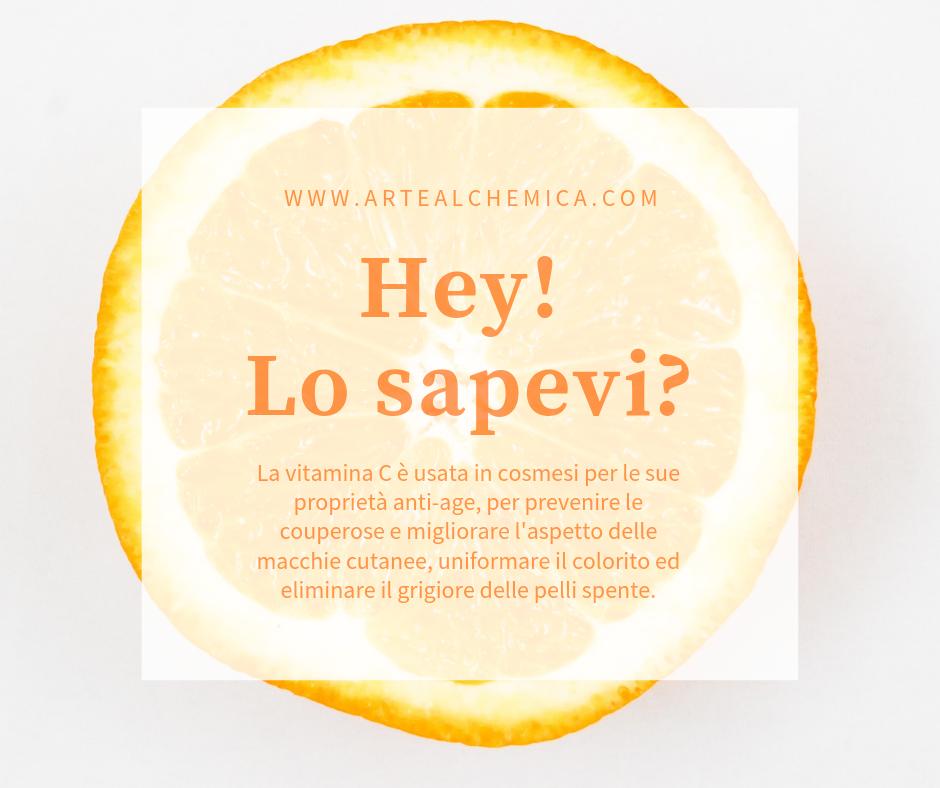 I vantaggi della Vitamina C