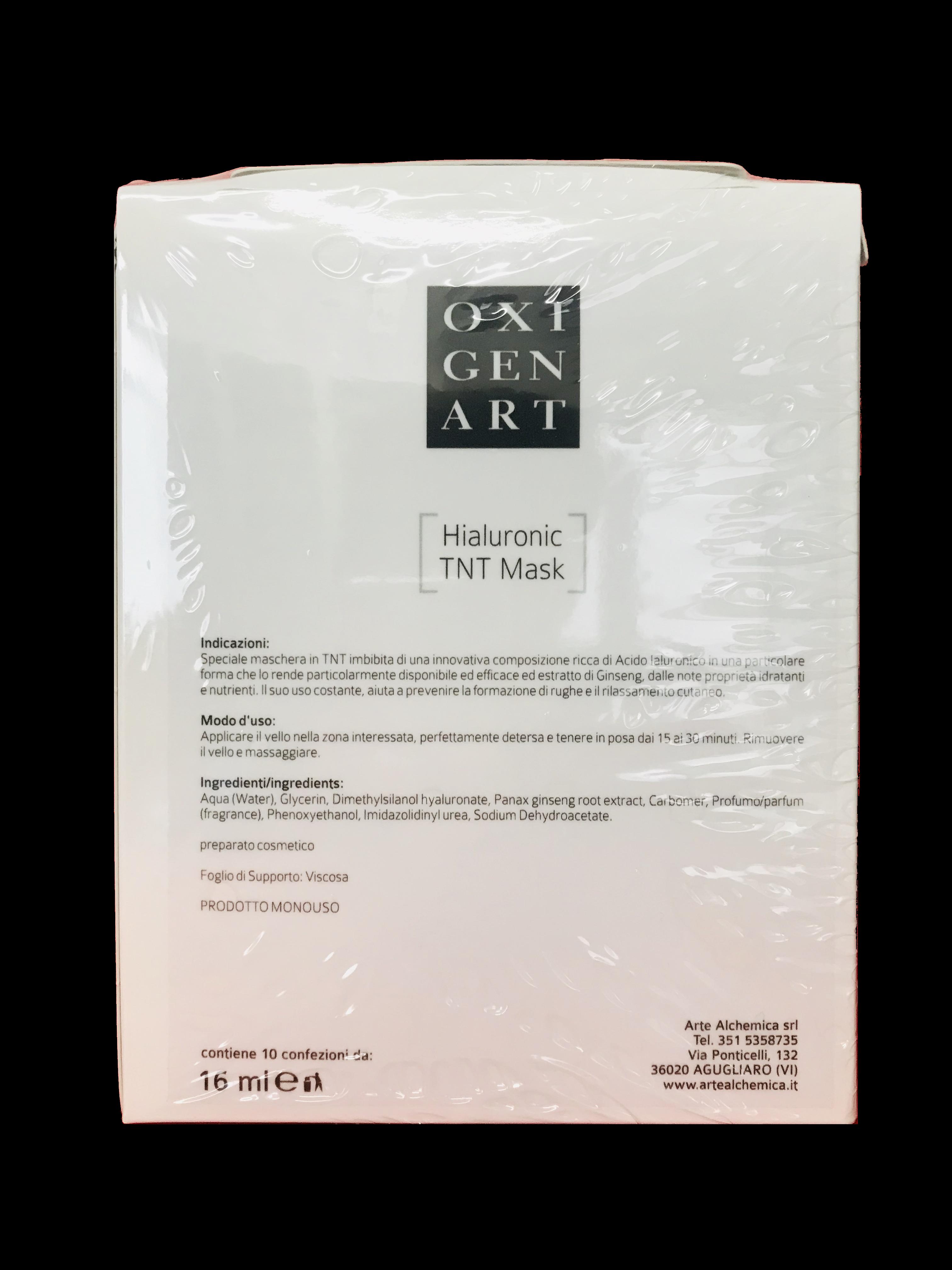 scatola hialuronic tnt mask